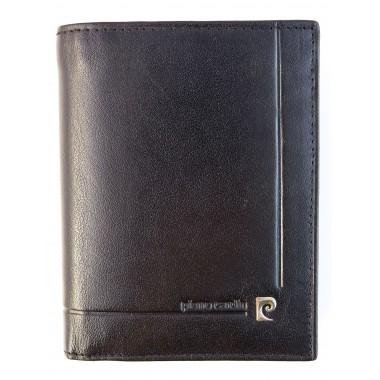 Skórzany portfel Pierre Cardin z dużą ilością zakładek PF7