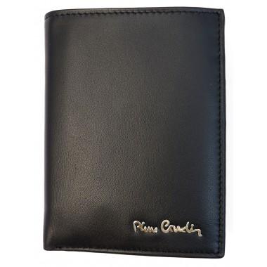 Skórzany portfel Pierre Cardin z dużą ilością zakładek PF8