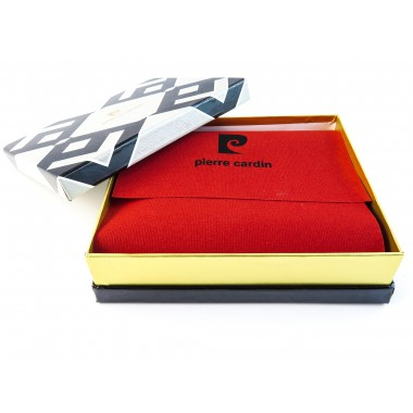 Skórzany damski portfel Pierre Cardin PFD2