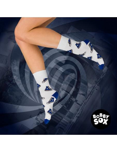 Skarpetki Bobby Sox - Niebieskie cichobiegi BS5