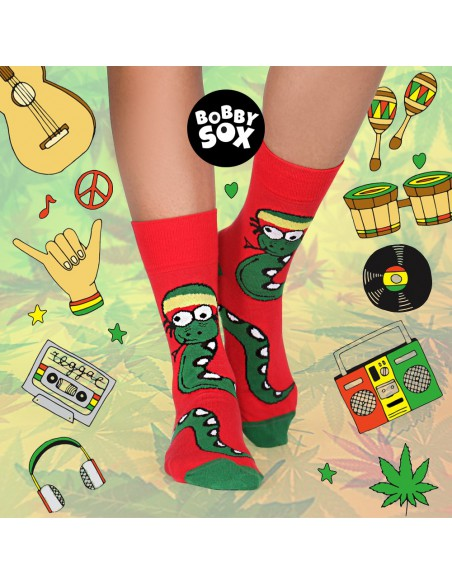 Skarpetki Bobby Sox - Jamajka Snake! BS8