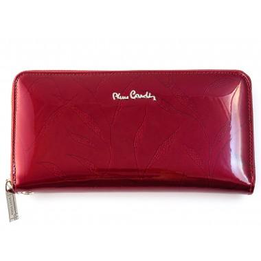Skórzany duży portfel damski Pierre Cardin PFD9