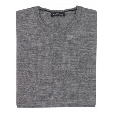 Szary sweter męski SW31