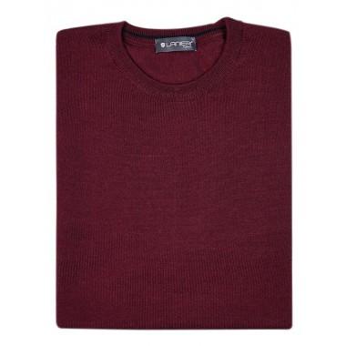 Bordowy sweter męski SW32