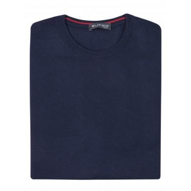 Granatowy sweter męski SW33