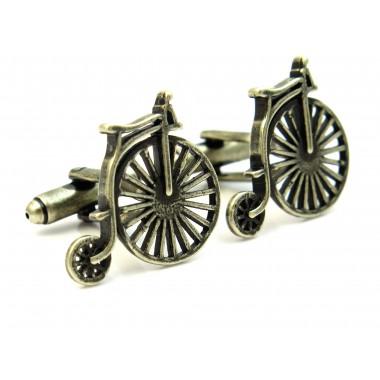 Spinki do mankietów rowery - bicykle A145