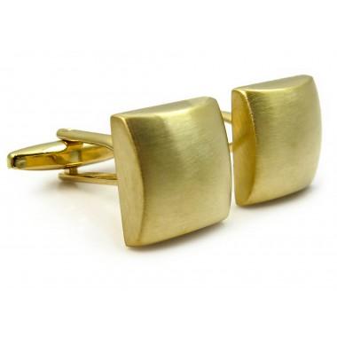 Złote spinki do mankietów A146