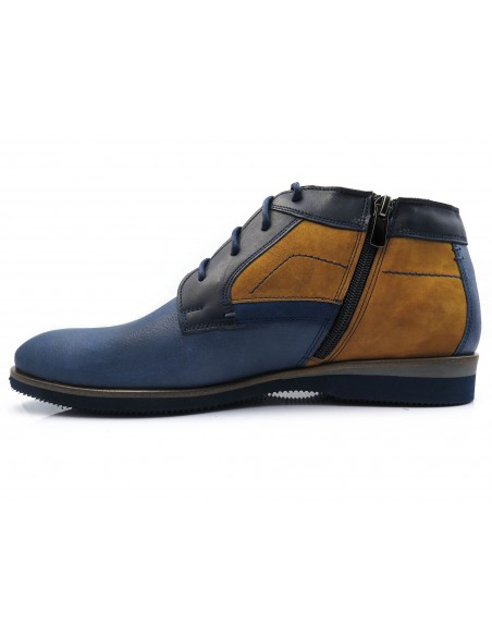 Granatowe obuwie zimowe T73
