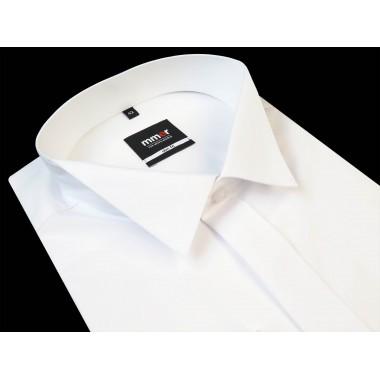 Biała koszula na spinki z...