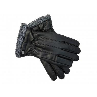 Skórzane rękawiczki Pierre Cardin