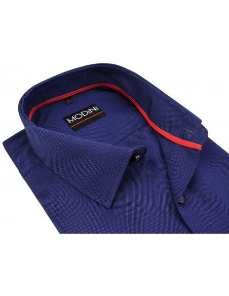 Granatowa koszula męska A40