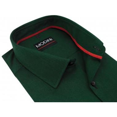 Zielona koszula męska Modini - butelkowa zieleń MA3