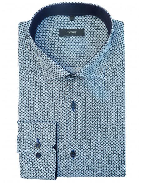 Koszula w drobny wzór 563