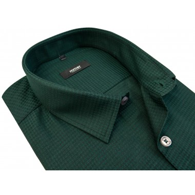 Zielona koszula w pepitkę 837