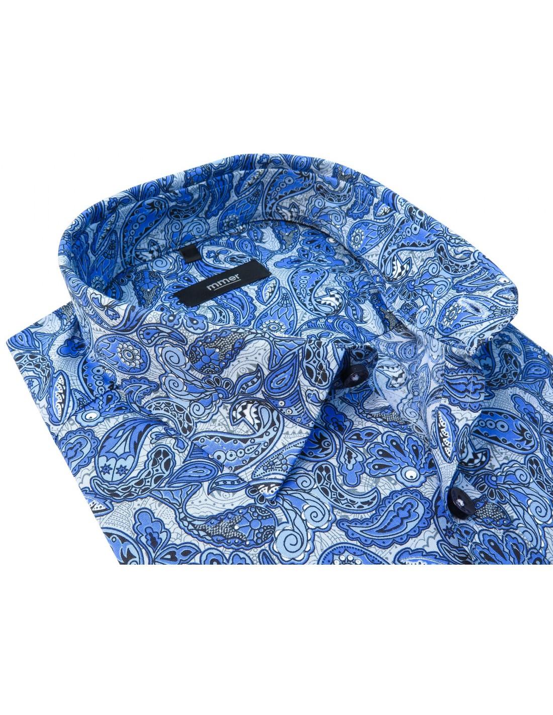 Koszula męska rozmiar M 3940 elegancka paisley