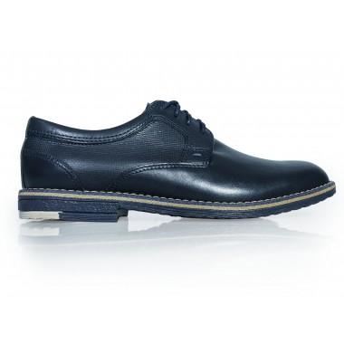 Granatowe dziecięce buty wizytowe BD4