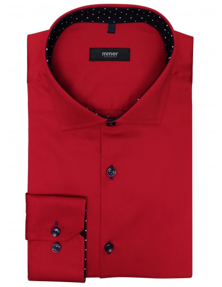 Czerwona koszula męska 404