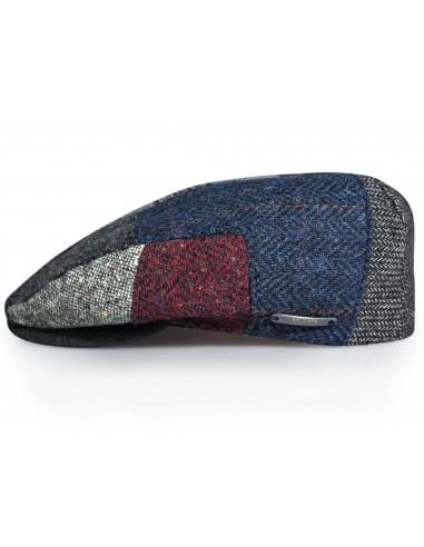Kaszkiet/czapka męska w łaty G18