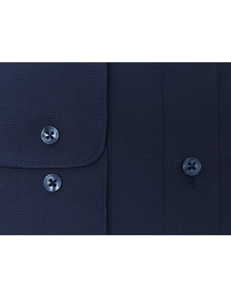 Granatowa gładka koszula KASTOR K77