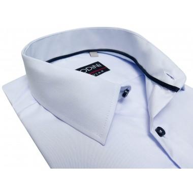 Błękitna koszula męska z kieszonką A43