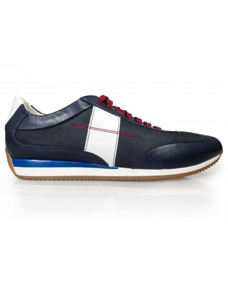 Granatowe obuwie sportowe T134