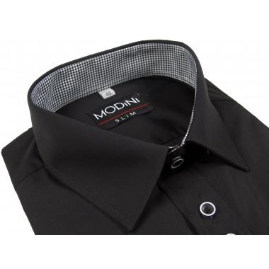 Czarna koszula męska Modini