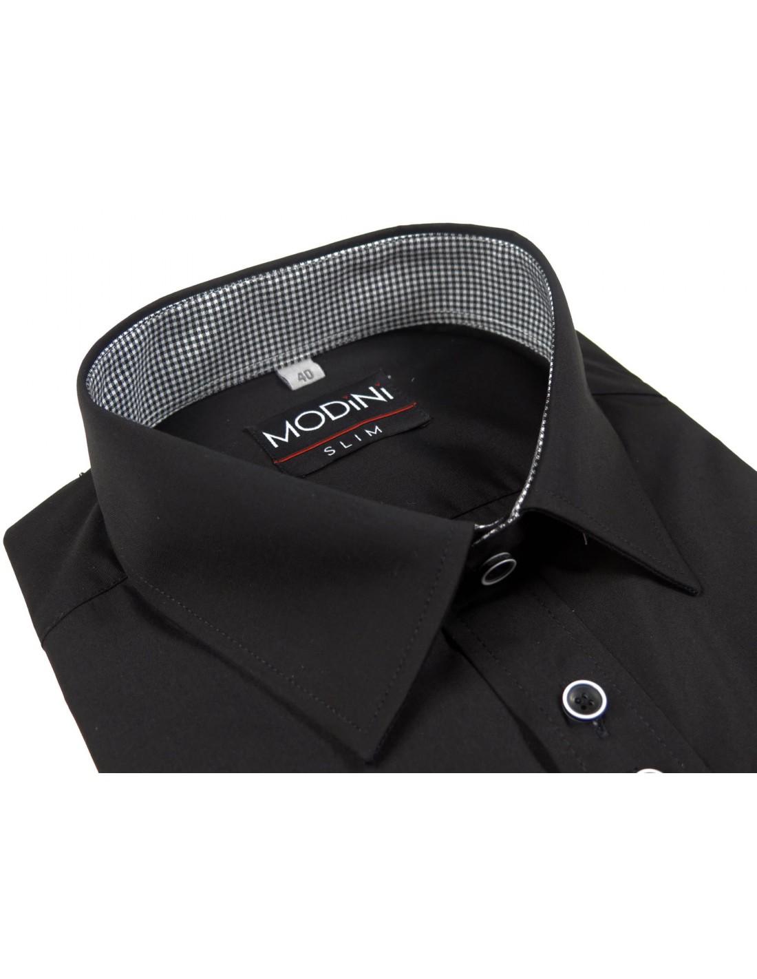 5af5020d36858 Czarna koszula męska Modini | Sklep Internetowy Modini.pl