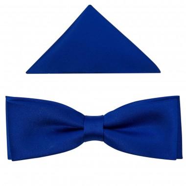 Niebieska mucha męska SLIM B8