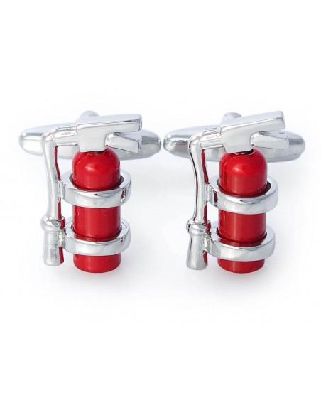 Spinki do mankietów gaśnica - dla strażaka A75