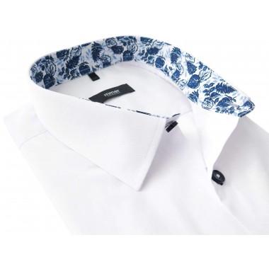 Biała koszula z krótkim rękawem 289K