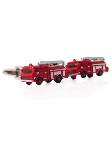 Spinki do mankietów dla strażaka - wozy strażackie U242