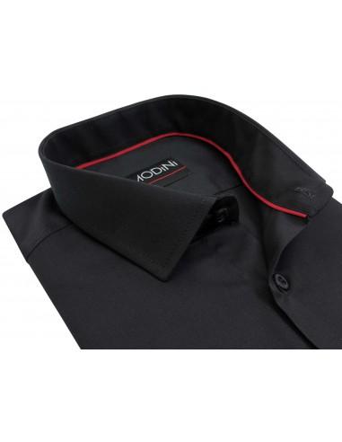 Czarna koszula męska Modini Y07