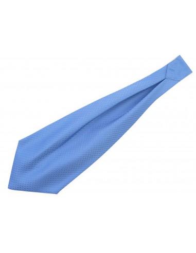 Niebieski/błękitny fular w...