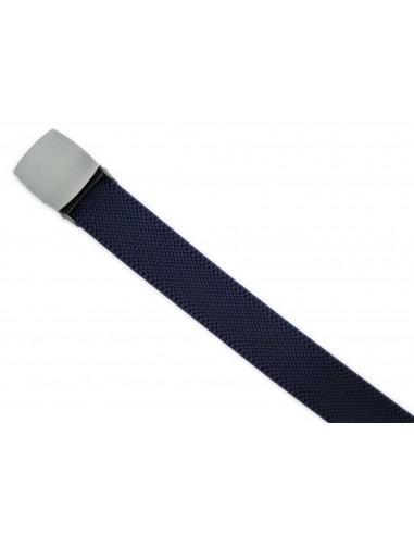 Granatowy elastyczny pasek do spodni...