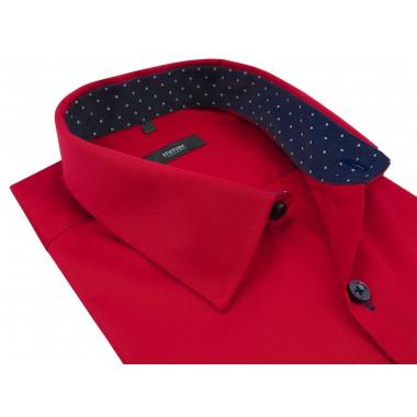 Czerwona koszula męska z...