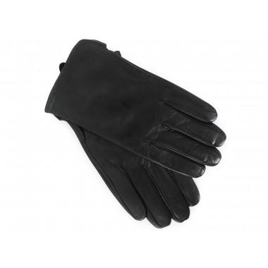 Skórzane czarne rękawiczki...