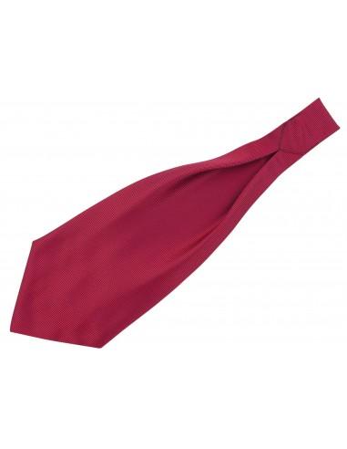 Granatowy fular w bordowe/czerwone...