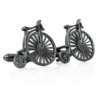 Spinki do mankietów rowery...