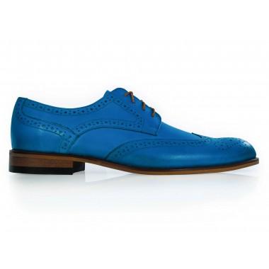 Niebieskie męskie buty...