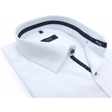 Biała koszula z kieszonką i...