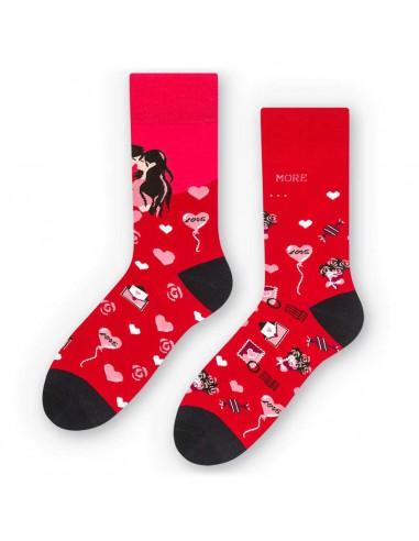 Walentynkowe skarpetki LOVE -...