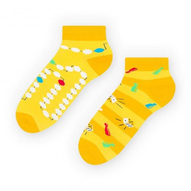 Żółte skarpetki/stopki dla...