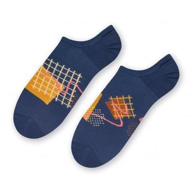 Niebieskie skarpetki/stopki...