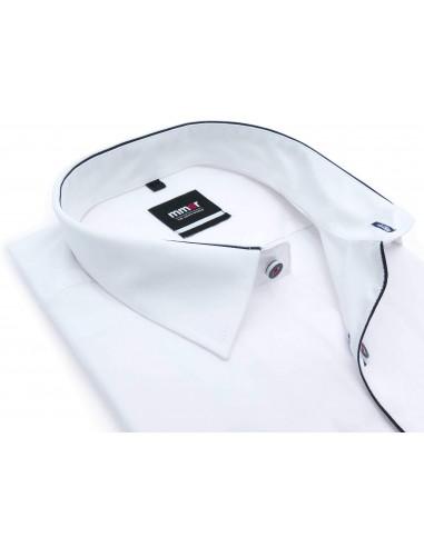 Biała koszula Mmer z granatową...