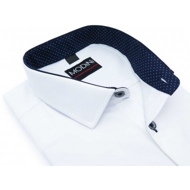 Biała koszula męska z...