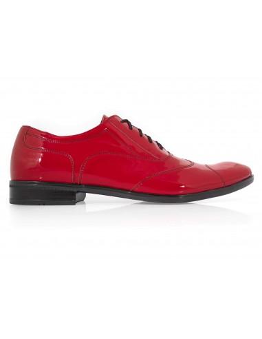 Lakierkowane obuwie męskie w kolorze...