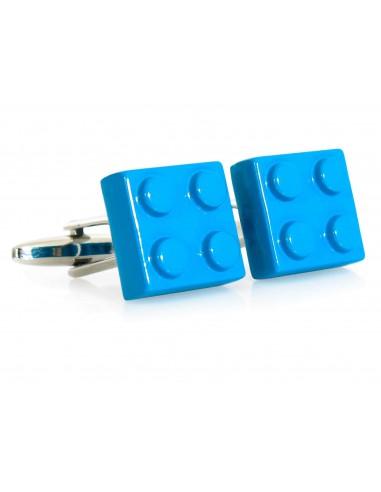 Spinki do mankietów - niebieskie...