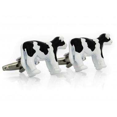 Spinki do mankietów - krowy...