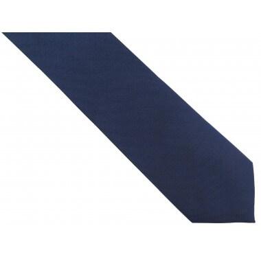 Granatowy krawat męski,...