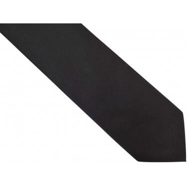 Czarny krawat męski,...